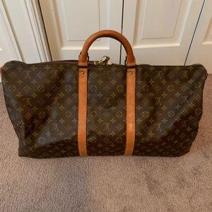 💯 Louis Vuitton Keepall Bandoliere 60